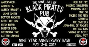 05-04-2017 - Black Pirates Pub - 9 year anniversary